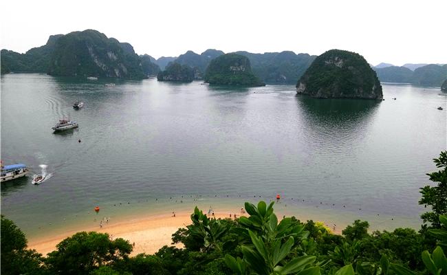 越南下龙湾天堂岛图片